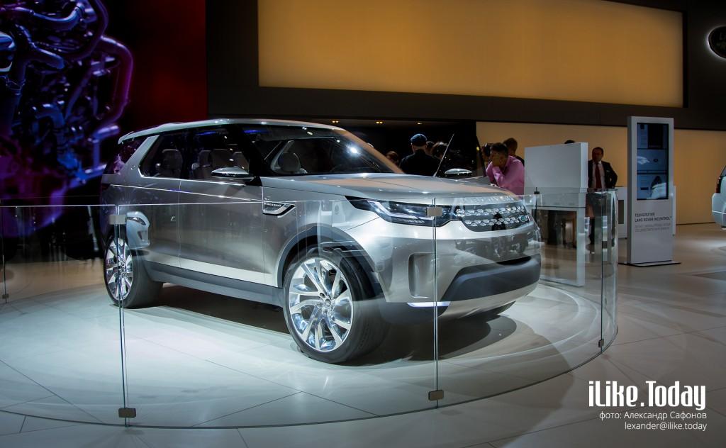 Land Rover Discovery Vision (Jaguar Land Rover на Московском международном автомобильном салоне 2014)
