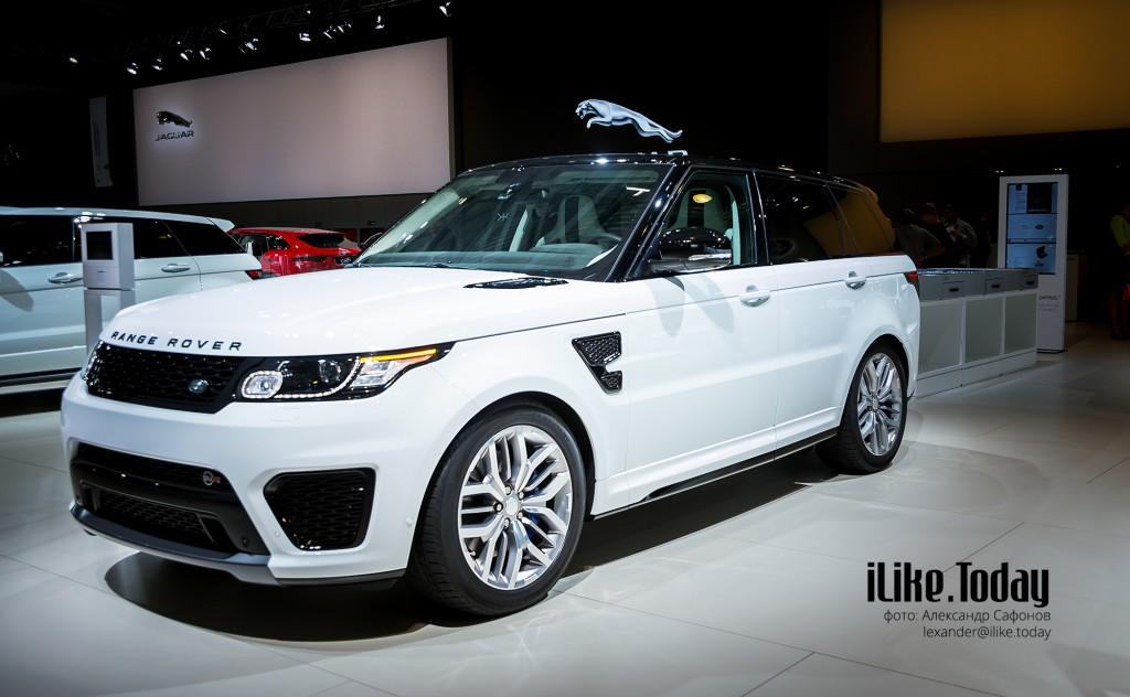 Range Rover Sport SVR (Jaguar Land Rover на Московском международном автомобильном салоне 2014)