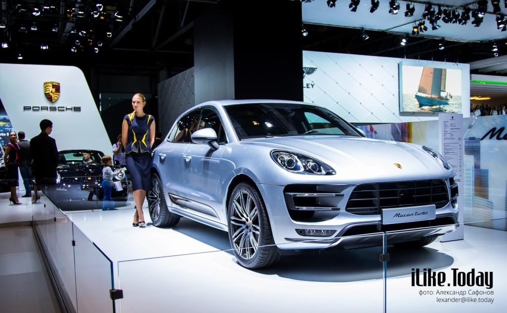 Porsche Macan на Московском международном автомобильном салоне 2014