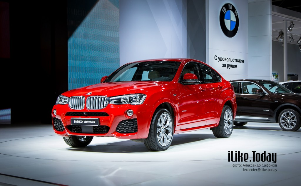 BMW X4 (BMW на Московском международном автомобильном салоне 2014)