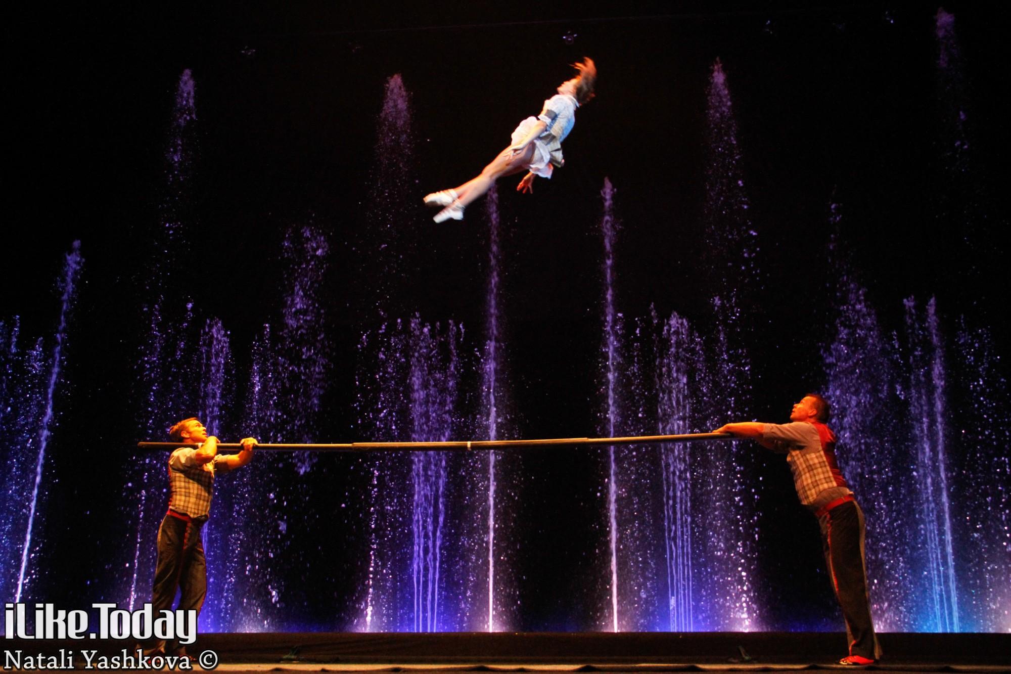 Где находится цирк танцующих фонтанов